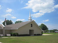 Whispering Pines Church in Webster Parish, LA IMG 3534