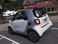 White Smart Passion Downtown St. Johnsbury VT August 2018 rear.jpg