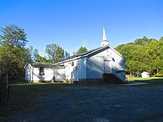 Whiteside, Tennessee - Whiteside Baptist Church