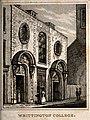 Whittington College (almshouses), City of London; perspectiv Wellcome V0014817.jpg