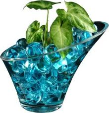 Water Gel Soil Beads Jelly Water Pearl Vase Filler for Home Garden Plants