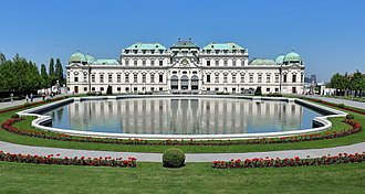 Pavilion - Image: Wien Schloss Belvedere, oberes (1)