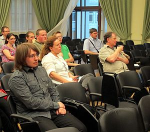 Wiki Party in Moscow 2013-05-18 (Wiki Award; Krassotkin; 09).JPG