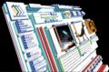 Wikilivres vu en 3D avec Firefox Tilt.png