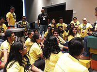 Wikimania 2015-Wednesday-Volunteers at Wikimania (13).jpg