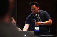 Wikimania 2015 - Joe Sutherland 39.jpg