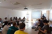 Wikimedia Hackathon Vienna 2017-05-19 Fantastic MediaWikis 002.jpg