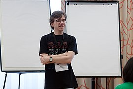 Wikimedia Hackathon Vienna 2017-05-19 Mentoring Program Introduction 024.jpg