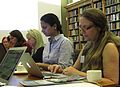 Wikimedia UK Ada Lovelace Day editathon 6.JPG