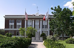 The Willacy County Courthouse in Raymondville