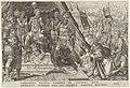 Willem II, hertog van Gelre, onderwerpt zich aan het gezag van Karel V, 1543 Overwinningen van Karel V (serietitel) Divi Caroli. V. imp. opt. max. victoriae, ex multis praecipuae (serietitel), RP-P-1892-A-17529.jpg