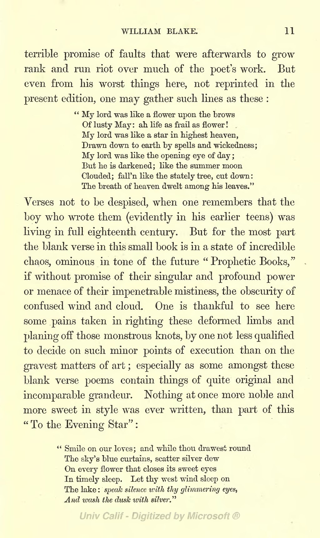 William Blake (Symons)/Extracts from the Diary, Letters, and Reminiscences of Henry Crabb Robinson