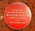 William Booth Plaque - geograph.org.uk - 1275148.jpg