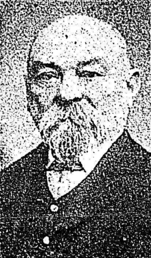 William Gaggin - Gaggin in 1908
