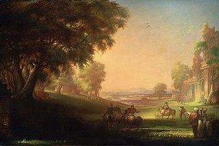 English Hunting Scene