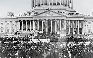 Inauguration of William Howard Taft - Image: William Taft Inauguration (cropped)