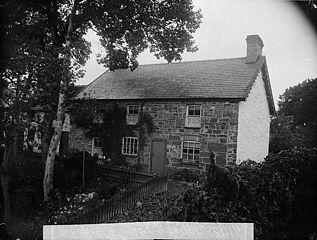 Williams' house, Llanbryn-mair