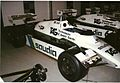 Williams FW08B at Williams factory.jpg