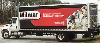 Interline Brands - Wilmar delivery truck