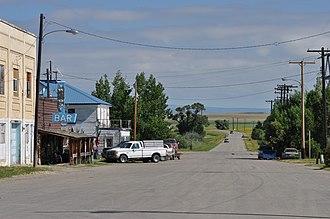Two Dot, Montana - Wilson Street, Two Dot