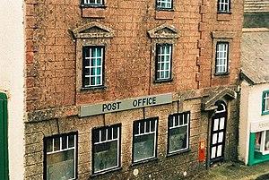 Wimborne Model Town - Image: Wimborne model town, post office on East Street geograph.org.uk 540017