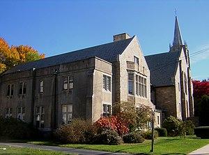 Wollaston Congregational Church - Image: Wollaston Congregational Church Quincy MA 01