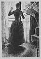 "Woman at the Window- Initial Conception for the painting, ""Sunday"" MET MM2354.jpg"