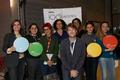 Women of Turkish origin and John Lubbock at the BBC 100 Women Wikipedia editathon.png