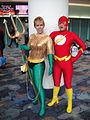 WonderCon 2012 - female Aquaman and Flash (6873355852).jpg