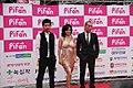Wong Ching-Po, Sora Aoi and Juno Mak at PiFan 20110722.jpg