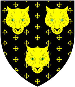 Charge (heraldry) - Image: Wood (Of Orchard Lew Trenchard Devon) Arms