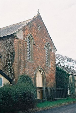 Woodcutts - Image: Woodcutts, former chapel geograph.org.uk 496555