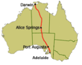 World Solar Challenge Route.PNG