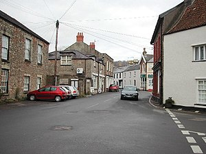 Wrington - Image: Wringtonhighstreet