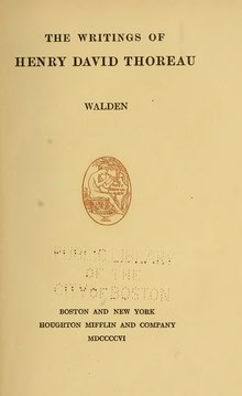 Writings of Henry David Thoreau (1906) v2.djvu