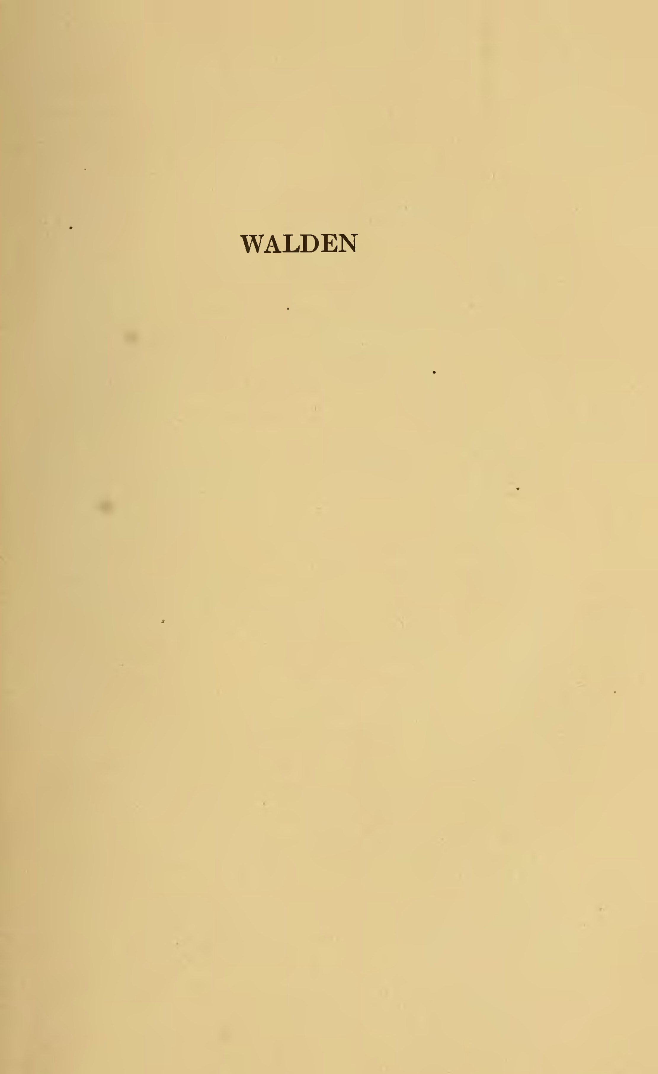 walden and other writings by henry david thoreau pdf