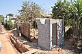 Wusakile - new double toilet, shower unit under construction - MCM.jpg