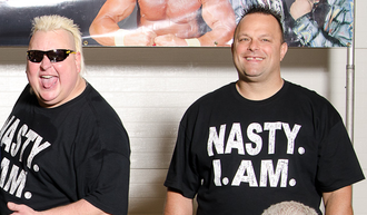 The Nasty Boys - The Nasty Boys in 2011. Brian Knobbs (left) and Jerry Sags