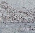 Wyngaerde Gibraltar (crop of southern end of town).jpg