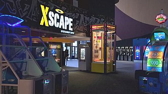 Cineplex Entertainment - An XScape arcade in Ottawa.