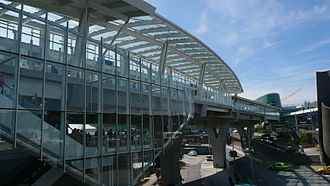 YVR–Airport station - Image: YVR Airport Stn