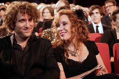Yael und Michael Ronen - Nestroy-Theaterpreis 2013 a.jpg