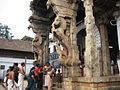 Yali pillars at entrance to Padmanabhaswamy temple at Thiruvanthapuram.jpg