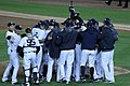 Yankees celebrate ALDS Game 5 victory 10-12-12 (2).jpeg