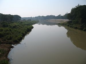 Yom River - Yom River in Mueang Phrae District, Phrae Province