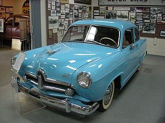 Ypsilanti Automotive Heritage Museum - Image: Ypsilanti Automotive Heritage Museum August 2013 04 (1951 Henry J)