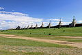 Zachodnia część muru klasztoru Erdene Dzuu.jpg