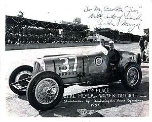 Zeke Meyer - Zeke Meyer 6th place in 1932