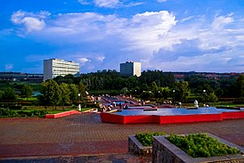 Zelenograd - Victory Park Fountains.jpg