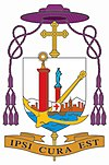 סמלו של הבישוף הסיני ג'וסף זן עם גאלרו סגול